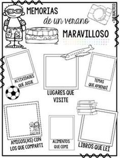This will make a great beginning activity for my Spanish class! Dual Language Classroom, Bilingual Classroom, Bilingual Education, Spanish Classroom, Spanish Teaching Resources, Spanish Activities, Spanish Lessons, Middle School Spanish, Elementary Spanish