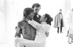 Mark Hamill, Gary Kurtz, & Carrie Fisher