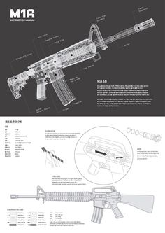 M16/4 Instruction Manual on Behance
