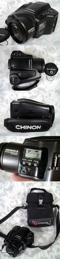 $120.00 or best offer Vintage 1980's CHINON GENESIS III SLR Camera Made in Japan w Original Case