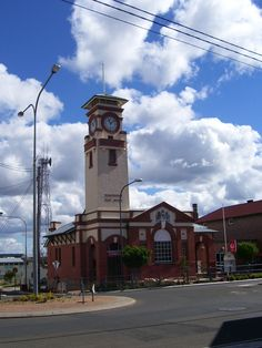 The Post Office at Stanthorpe, Qld, Australia