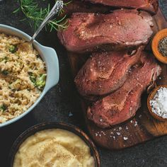 Rather than make reservations at a restaurant, enjoy family time at home with over four pounds of juicy and tender Prime Rib with Yukon Mashed Potatoes and Creamy Broccoli Rice Casserole.