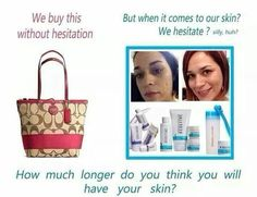 Don't forget the essential accessory is good skin care!  Fall in love with the Skin you are in!  With a 60-day money back guarantee you have everything to Gain!!  Kdhendon.myrandf.com