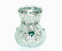Schmuck Vase Geschenk Weihnachten von LonasART auf DaWanda.com