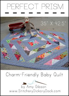 I love this pattern, maybe especially because it uses charm packs.