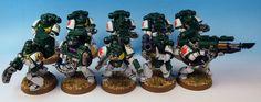The Mentor Legion: Devastator Squad space marine w40k