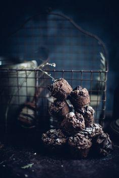 Energizing Chocolate Espresso Muffins - Christiann Koepke
