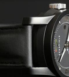 Signalman Silvertop on India Rubber DLC coating #schofield #black #watch #british