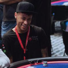 25.08.15 Poker !! #Neymar #pokerstars #Barcelona ♦♣♠♥