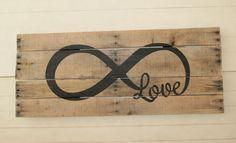 Infinity Loop Pallet Art Headboard DIY Home Decor  The Life of a Craft Crazed Mom