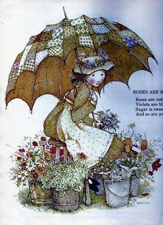 Holly Hobbie - from a vintage Holly Hobbie book