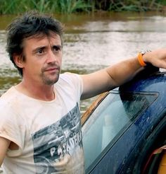 Top Gear's Richard Hammond with face scruff.