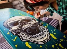 How to paint a surfboard #howtosurf