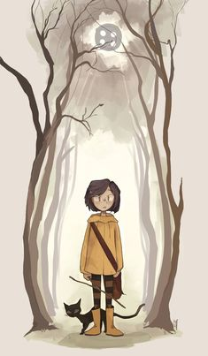 Was inspired by a friend's art portfolio ! Coraline is one of those movies which I REALLY enjoy the… – retired-insurance Coraline Jones, Coraline Drawing, Desenhos Tim Burton, Film Tim Burton, Coraline Aesthetic, Cartoon Kunst, Image Pinterest, Animation, Cool Art Drawings
