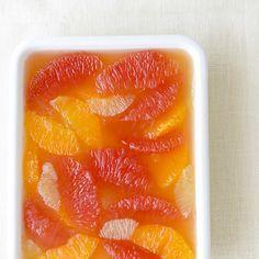 【料理家さんの定番おやつ】色とりどりの柑橘で作る、ゼリー寄せ – 北欧、暮らしの道具店