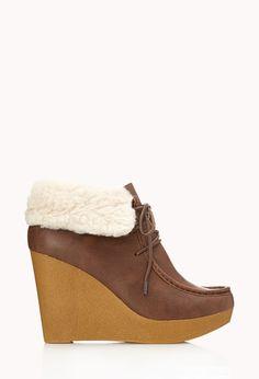 Cozy Chukka Boots | Shoes | Women - 2000050566 | Forever 21 EU