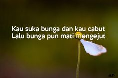 Malay quote, sad