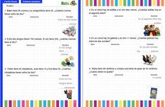 Colección de problemas para 3º de Primaria en PDF e Interactivos ideales para PDI