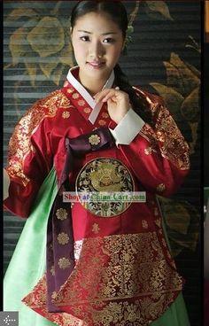 Queen's hanbok