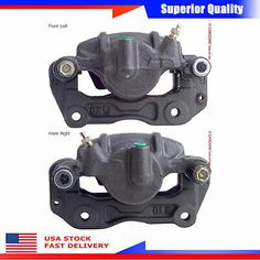 Disc Brake Caliper-Caliper with Installation Hardware Front Right fits Endeavor