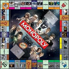 Doctor Who Collector's Edition Monopoly