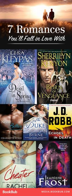 These 7 romance stories, including books from J.D. Robb and Lisa Kleypas, and definitely worth reading.