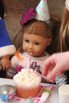 American Girl Birthday Party ideas since lexie asked for this theme fir her last night