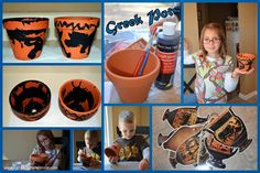 Clay Greek Pot Craft For Kids