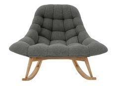 Kolton Rocking Chair, Marl Grey