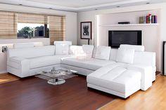 Ce canapé d'angle cuir contemporain conférera à votre salon moderne un look irrésistible grâce à ses lignes élégantes et originales. Sa mousse haute résilience confère à ce canapé une assise incomparable. Créé et testé pour une longévité maximale, ce magnifique ensemble d'angle cuir design vous procurera un excellent confort pour votre plus grand plaisir.
