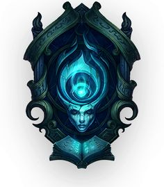 f Legends : Welcome to Universe, the definitive source for the world of League of Legends.Here you'll find a vast collection of art and artifacts, like bios chronicling the origins of your favorite champions and landscapes depicting th Fantasy Weapons, Fantasy Rpg, Fantasy World, Web Design, Game Design, Leona League Of Legends, Shield Design, Game Props, Game Icon