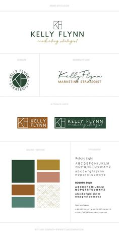 Custom Brand Design for Kelly Flynn Marketing Strategist by Witt and Company Service based business logo design Custom logo design Winter brand personality Visual brand design Geometric logo Style Guide Business Logo Design, Brand Identity Design, Business Branding, Brand Design, Logo Branding, Branding Ideas, Ios Design, Dashboard Design, Restaurant Branding