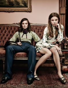 Fall fashion is all about the Wes Anderson look. See the fashion editorial story on wmag.com.