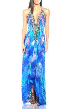 Designer Maxi Dresses|Beach Dress|Shahida Parides - Shahida Parides