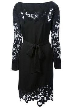 Cheap & Chic Holiday Dresses: Diane von Furstenberg dress, $465, farfetch.com.