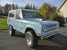1968 FORD BRONCO CUSTOM 4X4