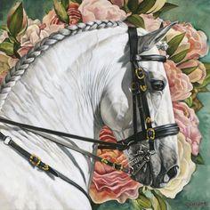 Painting Prints, Fine Art Prints, Baroque, Unicorn Tapestries, American Pharoah, Animal Paintings, Horse Paintings, Horse Portrait, Fashion Painting