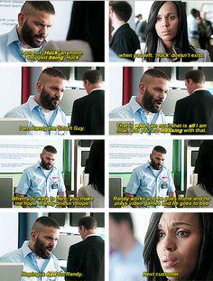 Scandal - Huck & Olivia #4.1 #Season4