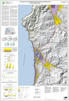 Tsunami inundation maps for Cannon Beach, Clatsop County, Oregon, by the Oregon Department of Geology and Mineral Industries