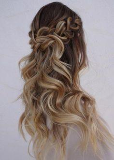 Heidi Marie Garett Wedding Hairstyle Inspiration
