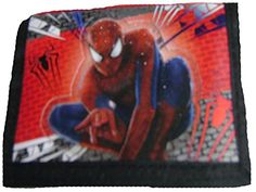 Spider Man Trifold Wallet for Kids -- This is an Amazon Affiliate link. Continue to the product at the image link.