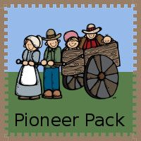 Free Pioneer Pack - Over 90 pages of activities for kids ages 2 to 10: matching cards, addition, hands on activities, print, cursive, fill in the missing number and more. Also includes a 30 page Tot pack  - 3Dinosaurs.com