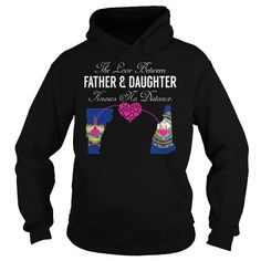 This matching father and daughter shirt will be a great gift for you or your friend: The Love Between Father and Daughter Knows No Distance - Vermont New Hampshire Tee Shirts T-Shirts