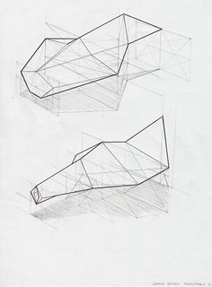 This drawing shows how much depth even very basic pencil work can add. Just by simply adding a shadow, the drawing immediately gains another dimension.