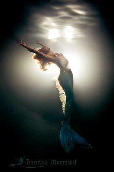 Hannah Mermaid by Michael Muller.