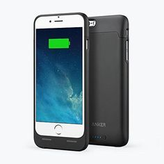 Battery Case iPhone 6 Anker Ultra Slim Extended 2850mAh Capacity Free Shipping #Anker