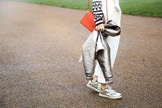 Неделя моды в Лондоне, осень-зима 2016: street style. Часть 2 (фото 17)