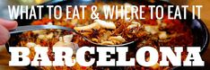 Barcelona Gastro Guide: Where to Eat in Barcelona - An Insider's Spain Travel Blog & Spain Food Blog!   Contact me at deb@vacationsbydeb.com to plan your trip to Barcelona.