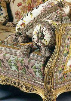 Versailles, la chambre de la Reine