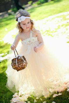 wedding flower girl ideas dresses and basket